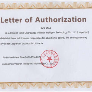EUC.SALE official LEAPERKIM VETERAN distributor in Europe.