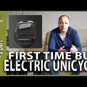 New on the electric UNICYCLE. First time buying EUC.