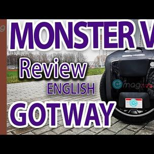Gotway Monster V3 100v(1845wh) EUC full review